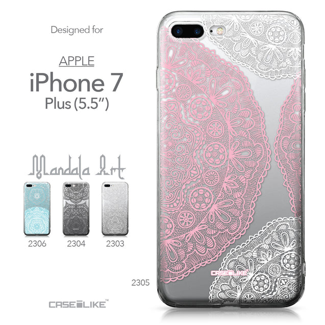 Apple iPhone 7 Plus case Mandala Art 2305 Collection | CASEiLIKE.com