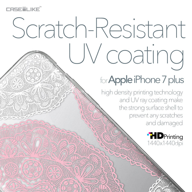 Apple iPhone 7 Plus case Mandala Art 2305 with UV-Coating Scratch-Resistant Case | CASEiLIKE.com