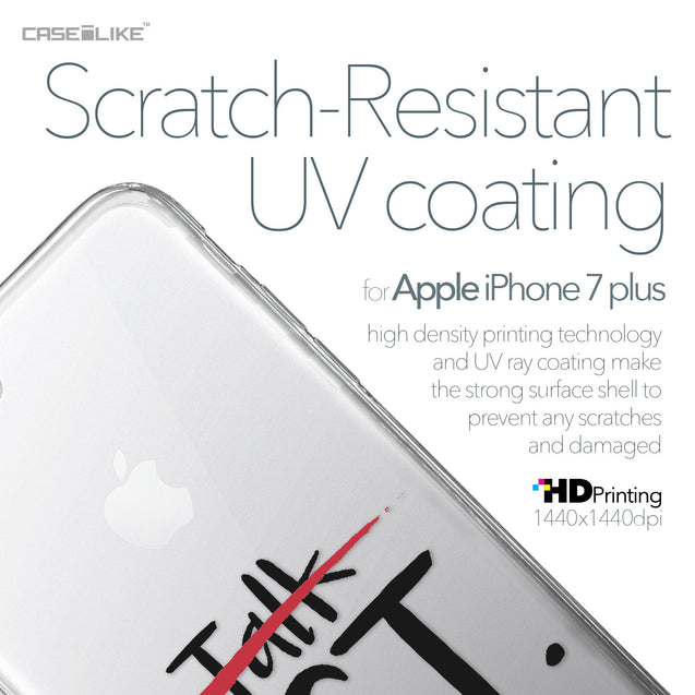 Apple iPhone 7 Plus case Quote 2408 with UV-Coating Scratch-Resistant Case | CASEiLIKE.com