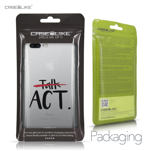 Apple iPhone 7 Plus case Quote 2408 Retail Packaging | CASEiLIKE.com