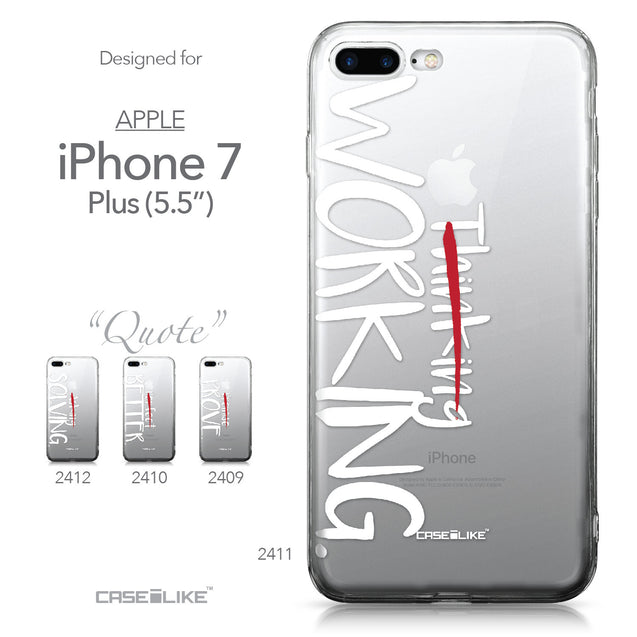 Apple iPhone 7 Plus case Quote 2411 Collection | CASEiLIKE.com