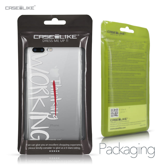 Apple iPhone 7 Plus case Quote 2411 Retail Packaging | CASEiLIKE.com