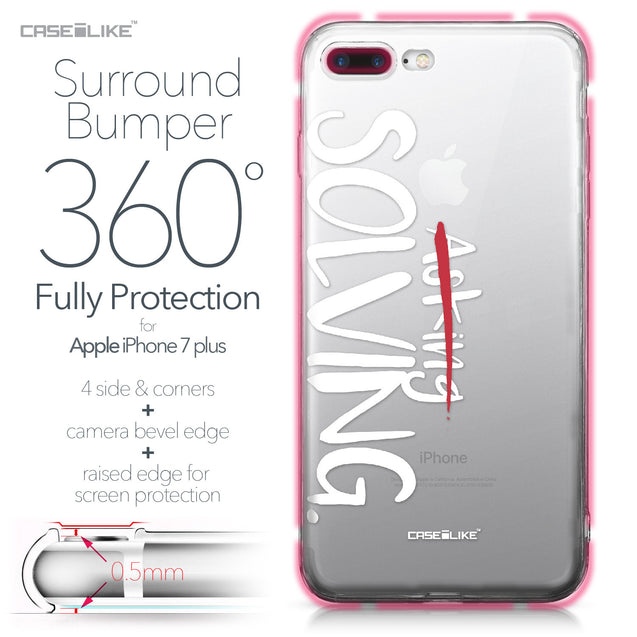 Apple iPhone 7 Plus case Quote 2412 Bumper Case Protection | CASEiLIKE.com