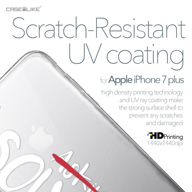 Apple iPhone 7 Plus case Quote 2412 with UV-Coating Scratch-Resistant Case | CASEiLIKE.com