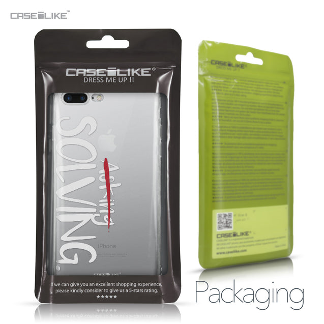 Apple iPhone 7 Plus case Quote 2412 Retail Packaging | CASEiLIKE.com