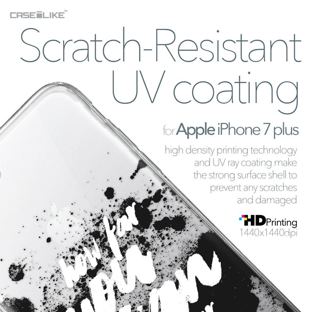 Apple iPhone 7 Plus case Quote 2413 with UV-Coating Scratch-Resistant Case | CASEiLIKE.com