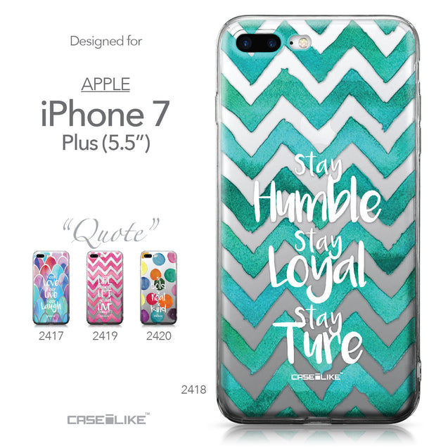 Apple iPhone 7 Plus case Quote 2418 Collection | CASEiLIKE.com