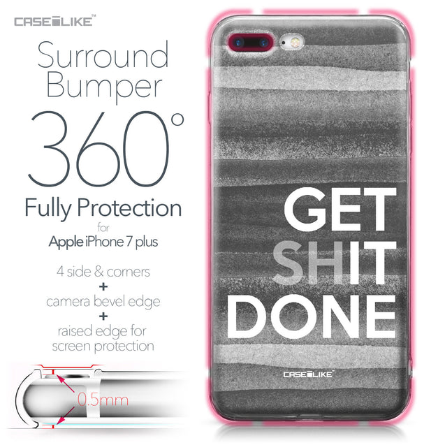Apple iPhone 7 Plus case Quote 2429 Bumper Case Protection | CASEiLIKE.com