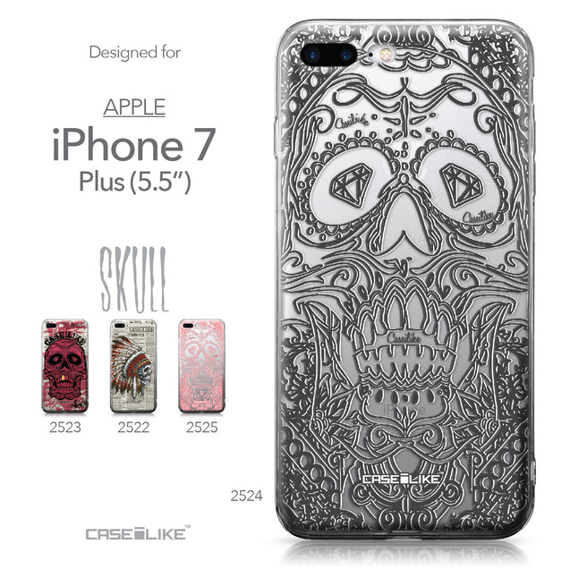 Apple iPhone 7 Plus case Art of Skull 2524 Collection | CASEiLIKE.com