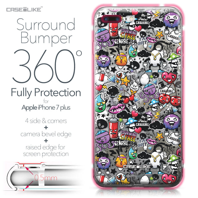 Apple iPhone 7 Plus case Graffiti 2703 Bumper Case Protection | CASEiLIKE.com