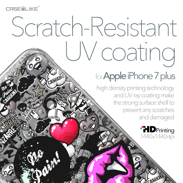 Apple iPhone 7 Plus case Graffiti 2708 with UV-Coating Scratch-Resistant Case | CASEiLIKE.com
