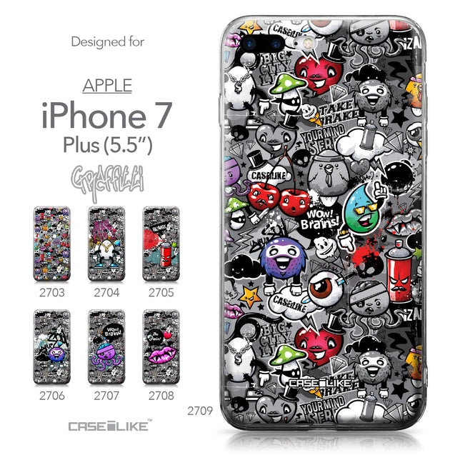 Apple iPhone 7 Plus case Graffiti 2709 Collection | CASEiLIKE.com