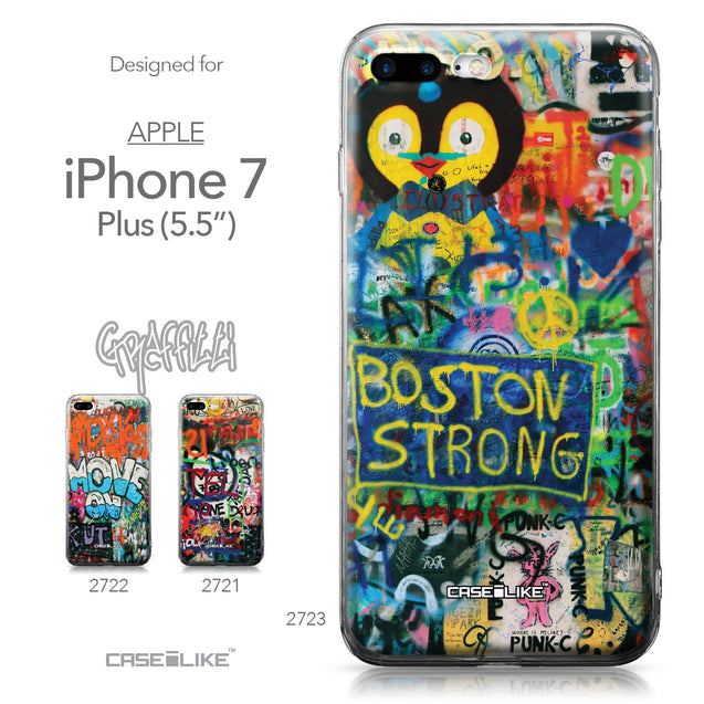 Apple iPhone 7 Plus case Graffiti 2723 Collection | CASEiLIKE.com