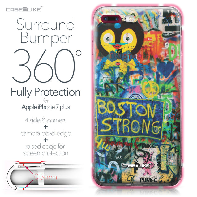 Apple iPhone 7 Plus case Graffiti 2723 Bumper Case Protection | CASEiLIKE.com