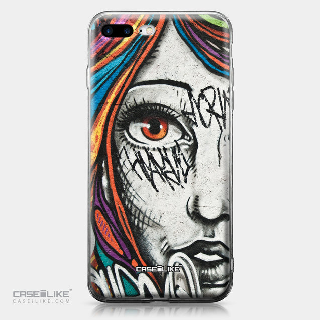 Apple iPhone 7 Plus case Graffiti Girl 2724 | CASEiLIKE.com