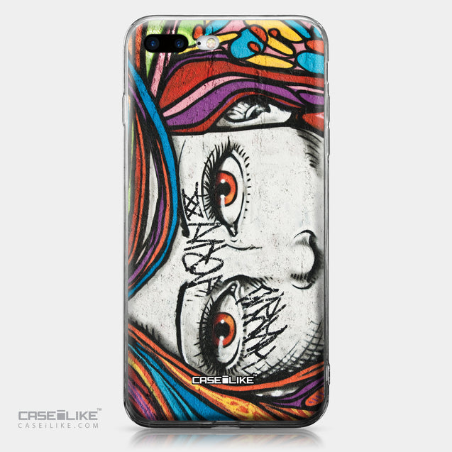 Apple iPhone 7 Plus case Graffiti Girl 2725 | CASEiLIKE.com