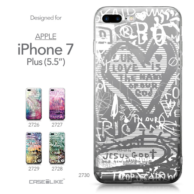 Apple iPhone 7 Plus case Graffiti 2730 Collection | CASEiLIKE.com