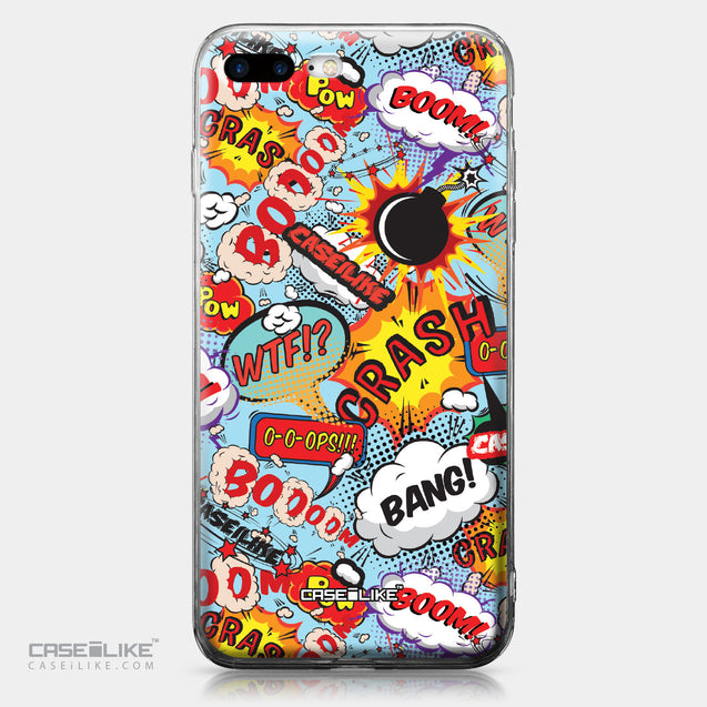 Apple iPhone 7 Plus case Comic Captions Blue 2913 | CASEiLIKE.com
