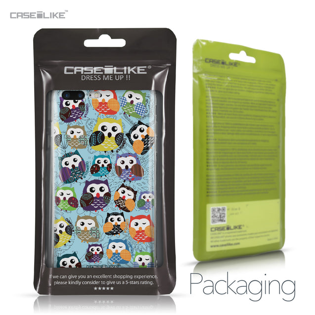 Apple iPhone 7 Plus case Owl Graphic Design 3312 Retail Packaging | CASEiLIKE.com