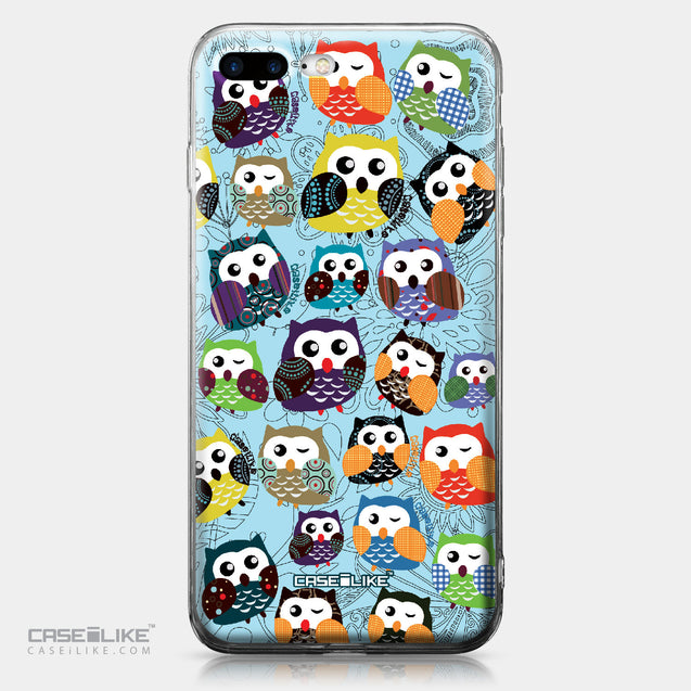 Apple iPhone 7 Plus case Owl Graphic Design 3312 | CASEiLIKE.com