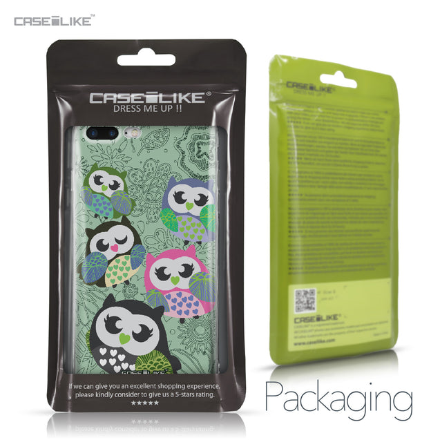 Apple iPhone 7 Plus case Owl Graphic Design 3313 Retail Packaging | CASEiLIKE.com