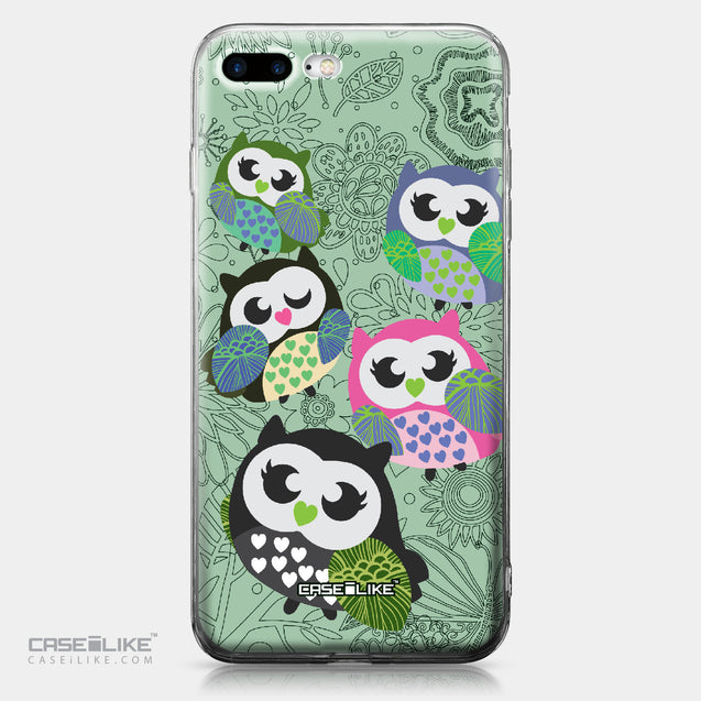 Apple iPhone 7 Plus case Owl Graphic Design 3313 | CASEiLIKE.com