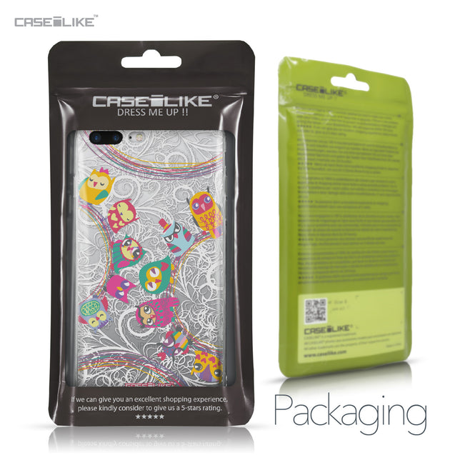 Apple iPhone 7 Plus case Owl Graphic Design 3316 Retail Packaging | CASEiLIKE.com