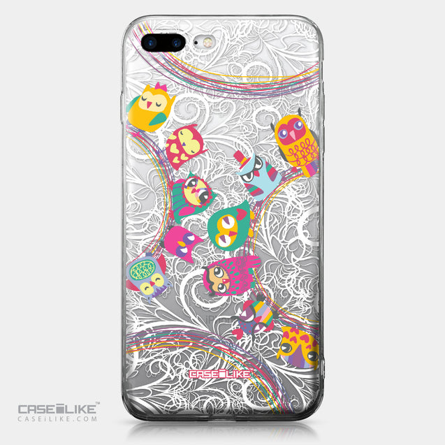 Apple iPhone 7 Plus case Owl Graphic Design 3316 | CASEiLIKE.com