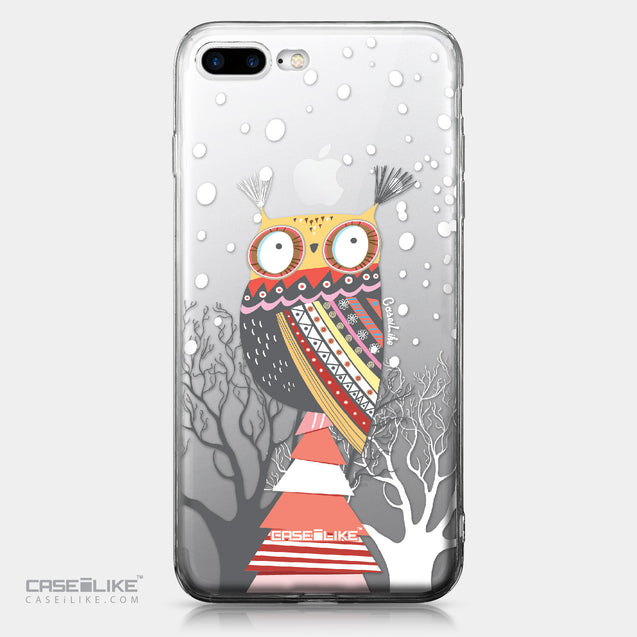 Apple iPhone 7 Plus case Owl Graphic Design 3317 | CASEiLIKE.com