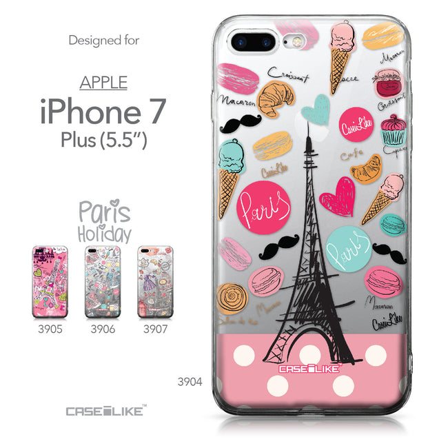 Apple iPhone 7 Plus case Paris Holiday 3904 Collection | CASEiLIKE.com