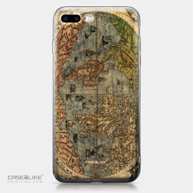 Apple iPhone 7 Plus case World Map Vintage 4608 | CASEiLIKE.com