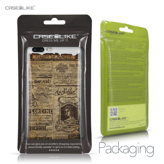 Apple iPhone 7 Plus case Vintage Newspaper Advertising 4819 Retail Packaging | CASEiLIKE.com