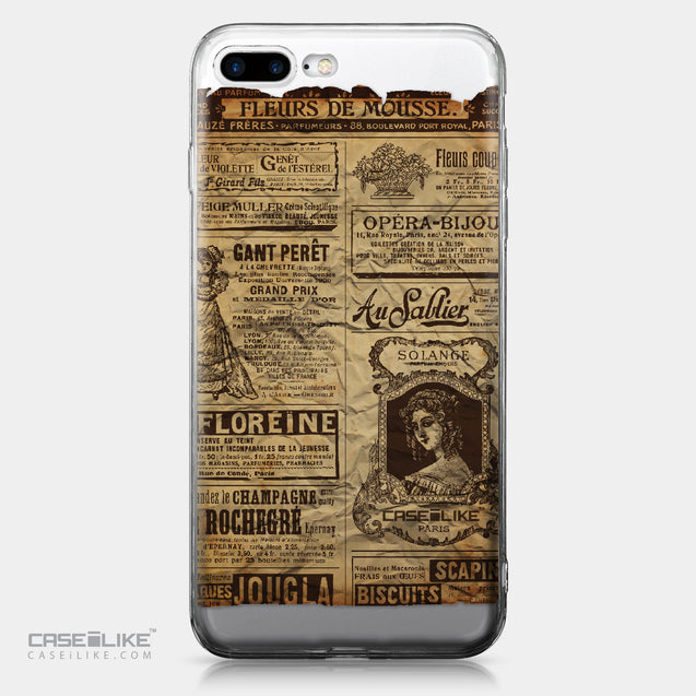 Apple iPhone 7 Plus case Vintage Newspaper Advertising 4819 | CASEiLIKE.com