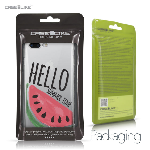 Apple iPhone 7 Plus case Water Melon 4821 Retail Packaging | CASEiLIKE.com