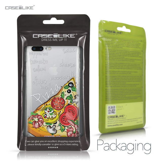 Apple iPhone 7 Plus case Pizza 4822 Retail Packaging | CASEiLIKE.com