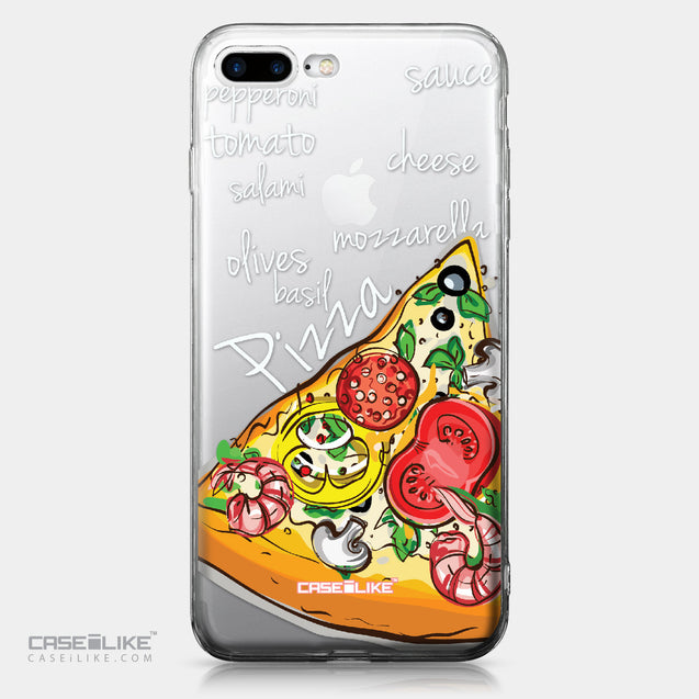 Apple iPhone 7 Plus case Pizza 4822 | CASEiLIKE.com