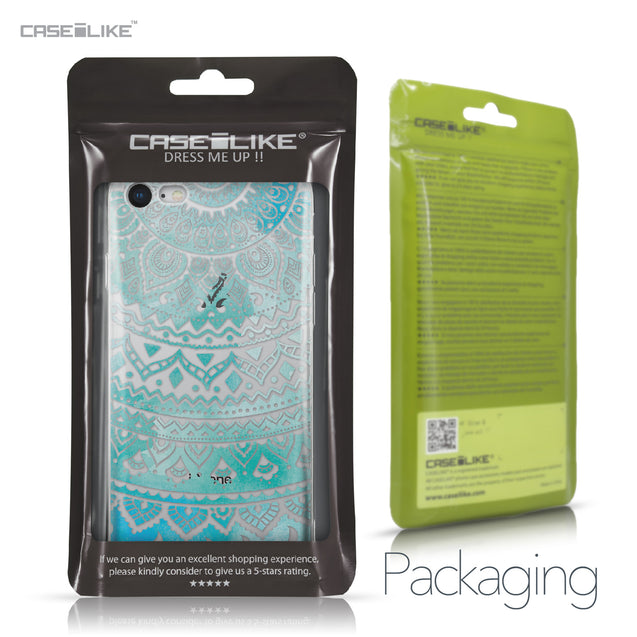 Apple iPhone 8 case Indian Line Art 2066 Retail Packaging | CASEiLIKE.com