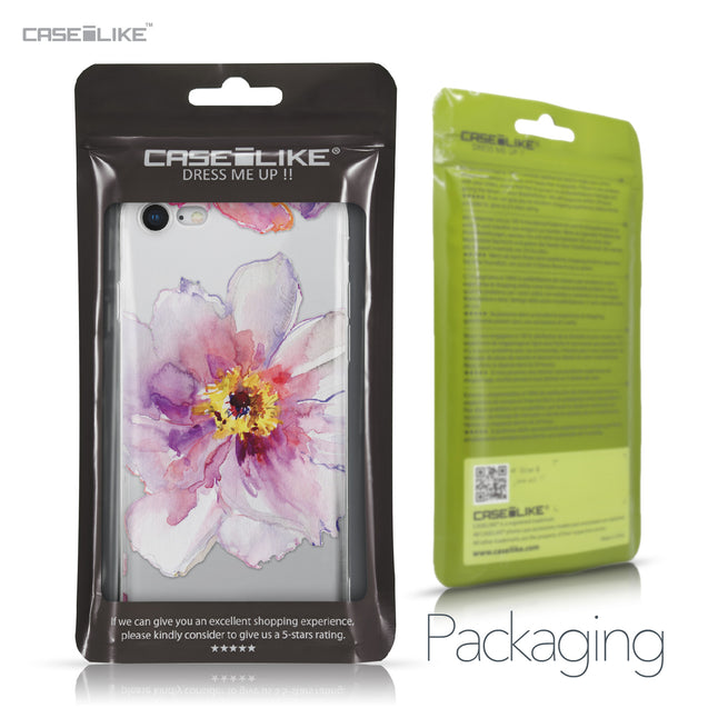 Apple iPhone 8 case Watercolor Floral 2231 Retail Packaging | CASEiLIKE.com