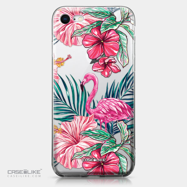 Apple iPhone 8 case Tropical Flamingo 2239 | CASEiLIKE.com