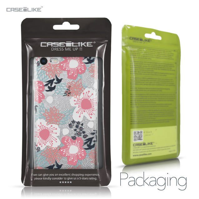 Apple iPhone 8 case Japanese Floral 2255 Retail Packaging | CASEiLIKE.com