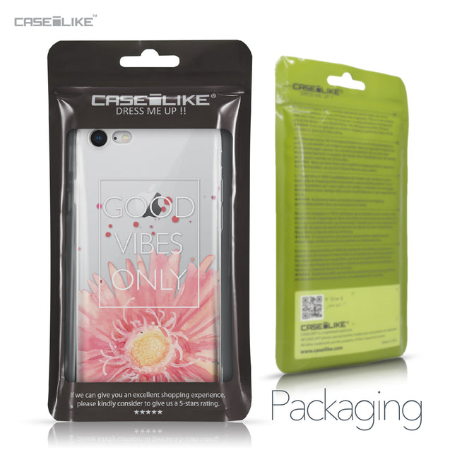 Apple iPhone 8 case Gerbera 2258 Retail Packaging | CASEiLIKE.com