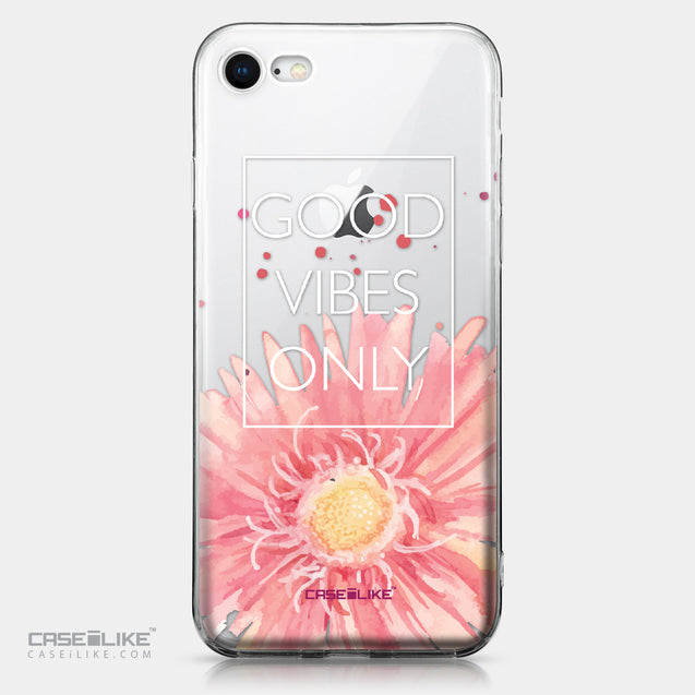 Apple iPhone 8 case Gerbera 2258 | CASEiLIKE.com