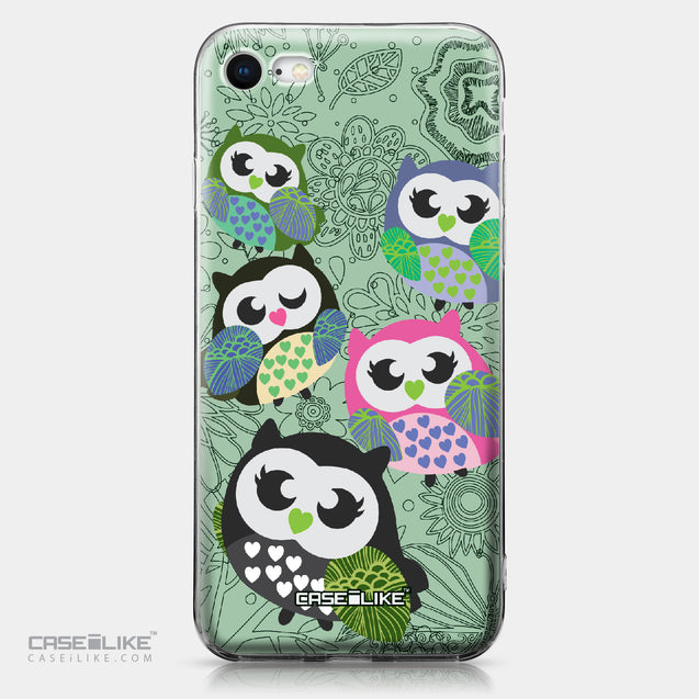 Apple iPhone 8 case Owl Graphic Design 3313 | CASEiLIKE.com