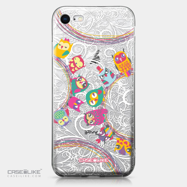 Apple iPhone 8 case Owl Graphic Design 3316 | CASEiLIKE.com