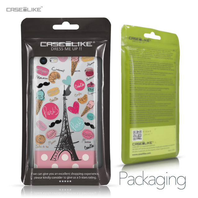 Apple iPhone 8 case Paris Holiday 3904 Retail Packaging | CASEiLIKE.com
