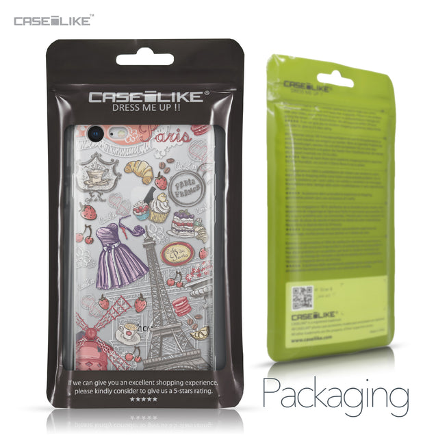 Apple iPhone 8 case Paris Holiday 3907 Retail Packaging | CASEiLIKE.com