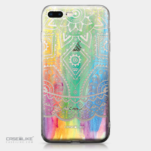 Apple iPhone 8 Plus case Indian Line Art 2064 | CASEiLIKE.com