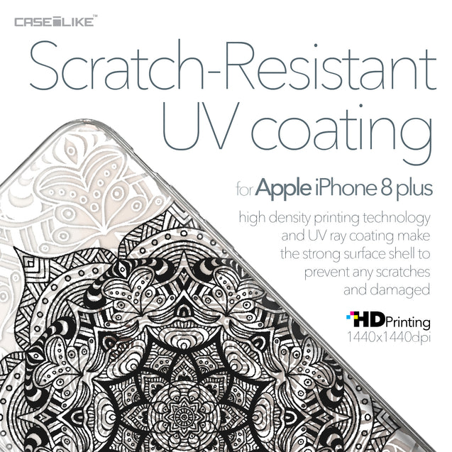 Apple iPhone 8 Plus case Mandala Art 2097 with UV-Coating Scratch-Resistant Case | CASEiLIKE.com