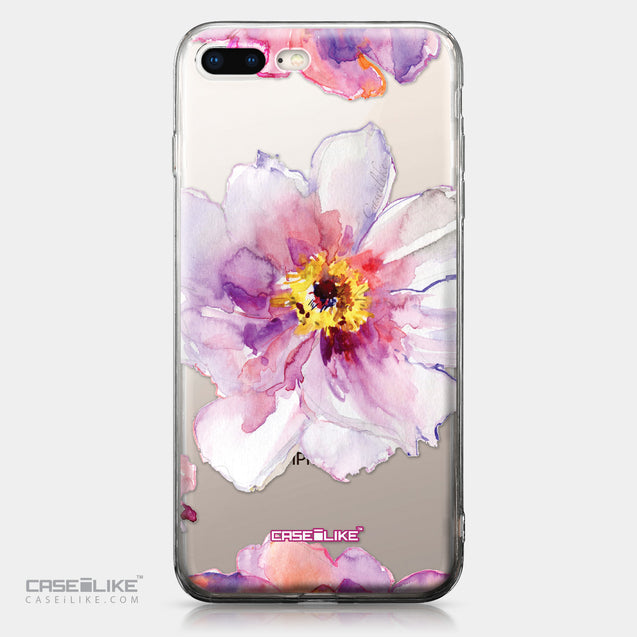 Apple iPhone 8 Plus case Watercolor Floral 2231 | CASEiLIKE.com