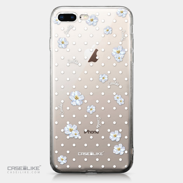 Apple iPhone 8 Plus case Watercolor Floral 2235 | CASEiLIKE.com